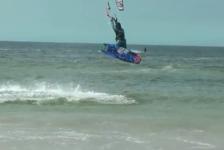 Clase magistral de kiteboard con Gisela Pulido A Lanzada