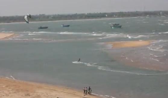 Kitesurf en la India