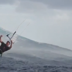 Kitesurfing en Teahupoo
